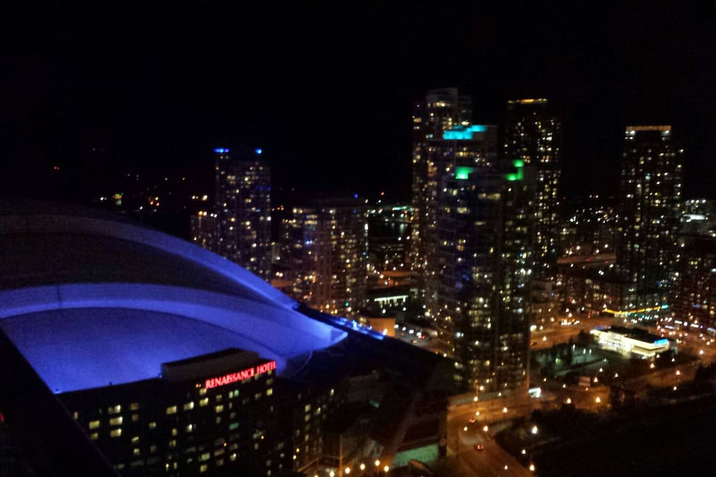 Amazing view of Rogers Center
