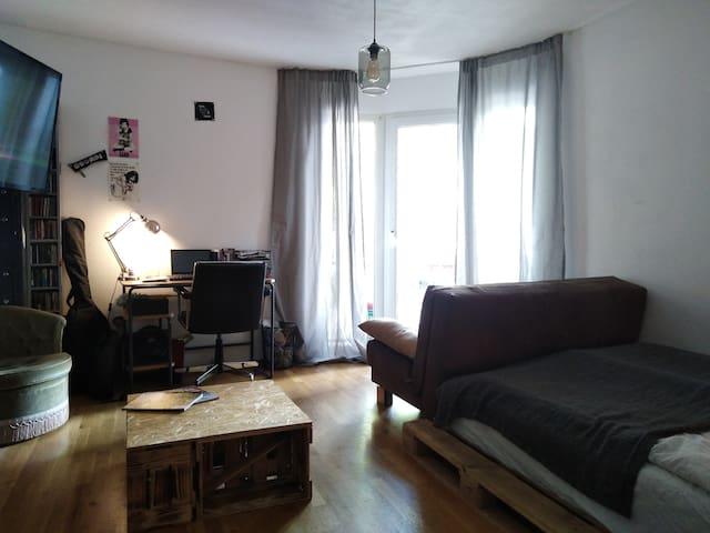 Helles Zimmer in Mainzer Altstadt