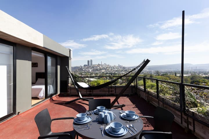 Perfect suite with terrace