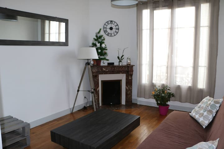 Lovely flat 10 min LaDéfense_Paris - La Garenne-Colombes - Квартира