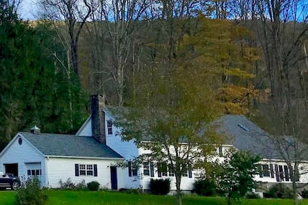 Huge Catskills retreat w/ fireplace lodge room