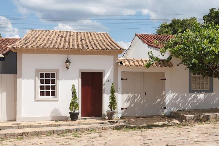 Casa Bemvinda no centro Histórico