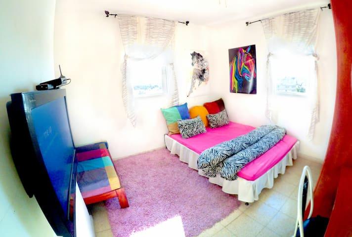 ZEBRA room, Spacious, Social, Central, City view