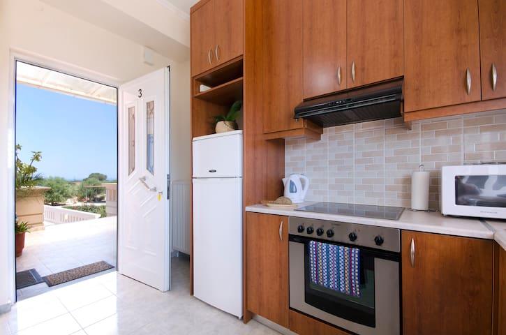 Superior 1BDR Apt Near Stavros Beach! - Stavros - Apartment