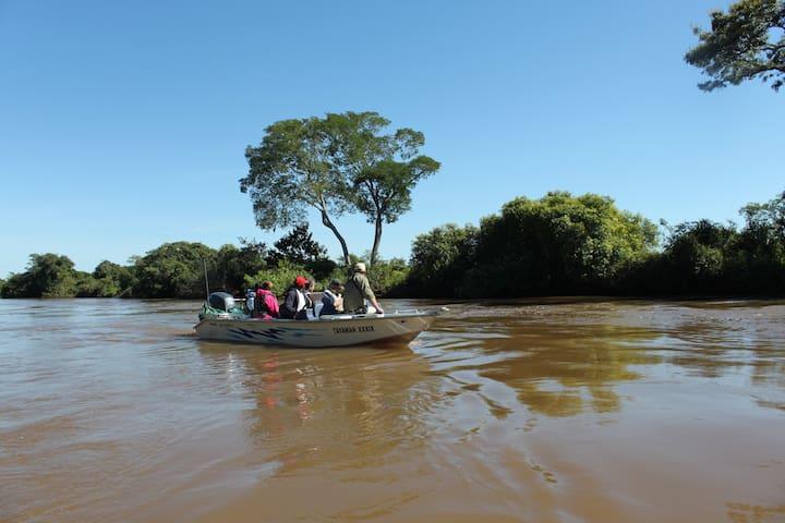 Porto Jofre Jaguar and Birdwatching tours pantanal