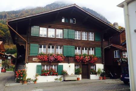Charming Swiss Chalet/Ferienwohnung - Wilderswil - Alpstuga