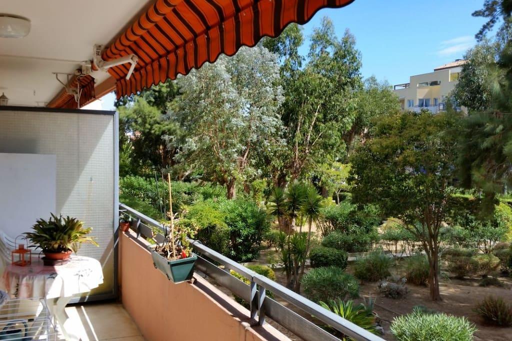 Ansicht von Balkon II