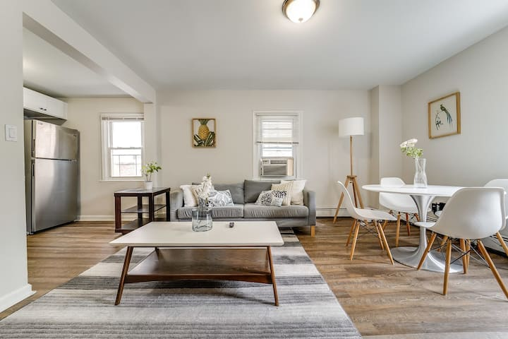 Contemporary 3-BR Apt | Downtown Bloomfield near Train to NYC