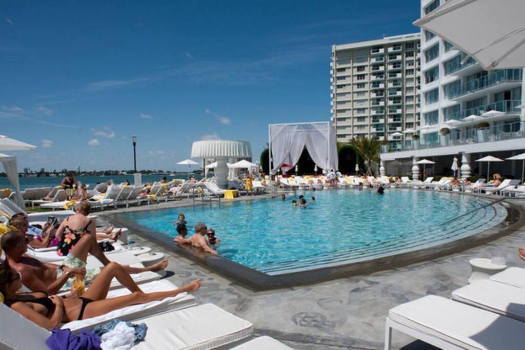 Amazing 5 hotel mondrian suite appartements louer - Appartement de luxe miami beach m butler ...
