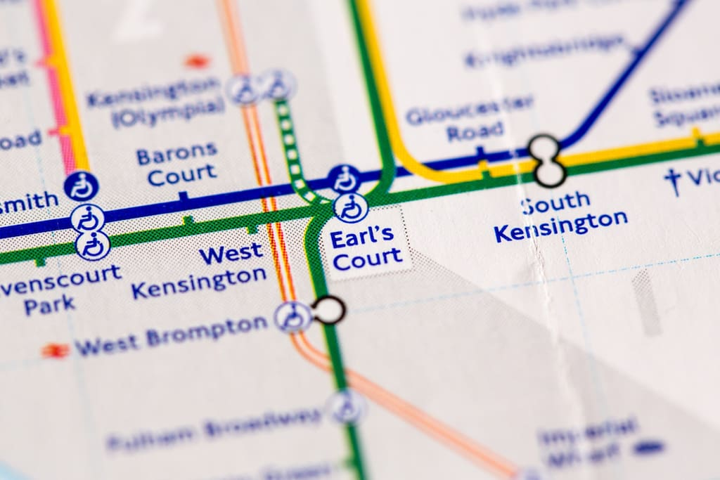 West Kensington tube station is perfectly placed for access to Central London.