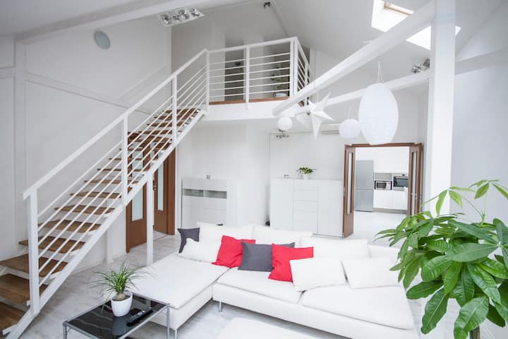 Loft With Rooftop And Garage (140 sqm, 3 Bedroom)