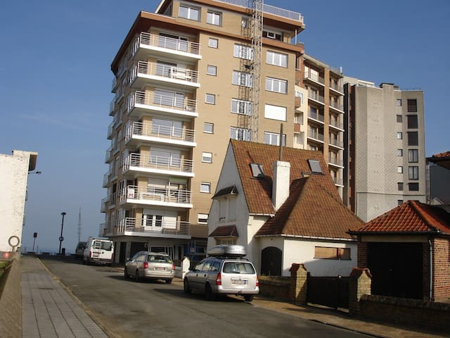 1 slpkamer appt zicht op zee en hinterland - Middelkerke - Apartamento