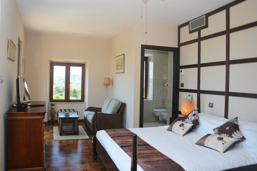 one of our individual deluxe double rooms