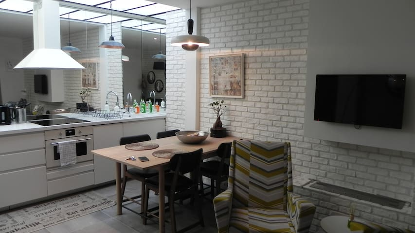 New charming trendy loft 45sqm
