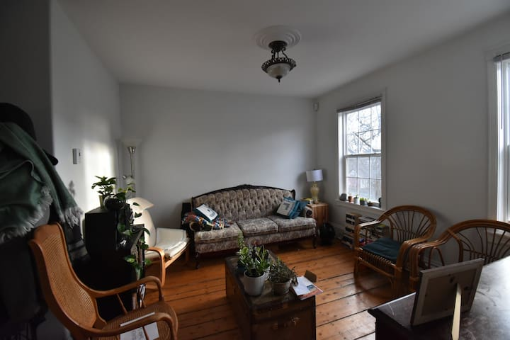 Cozy bright bedroom in Halifax