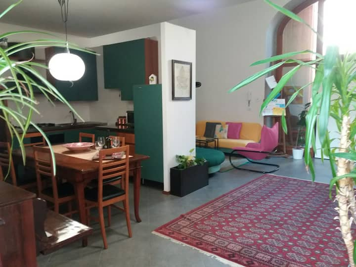 CASA Le RONDINI WiFi 5 pax car free SWALLOWS HOUSE