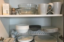 Dishes and Cutlery, Mugs and Glasses