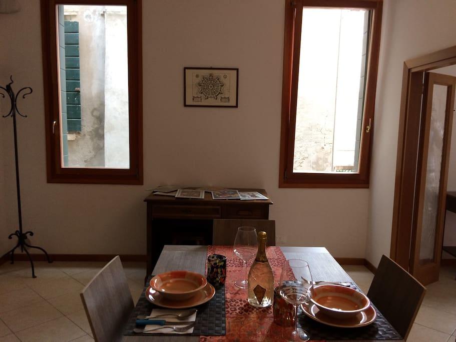 cucina/pranzo privato