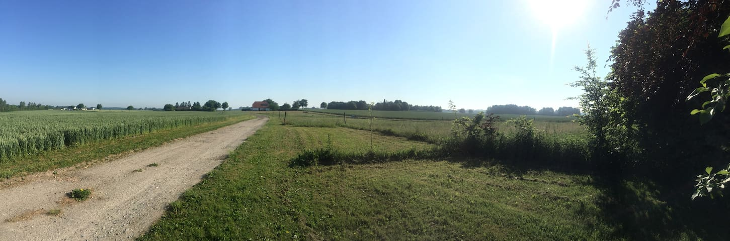 Camp site (small lot) on a farm like home