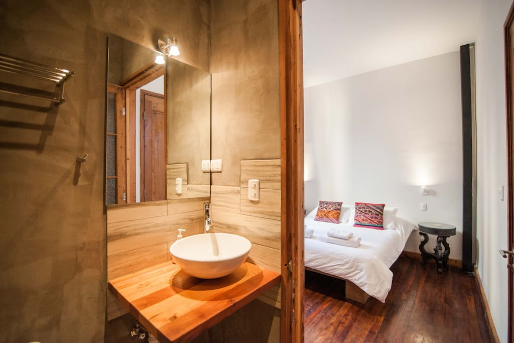 your room and private ensuite bathroom