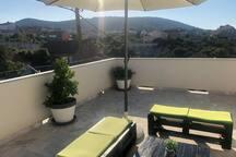 Terrace 2, Surface: 20 m²