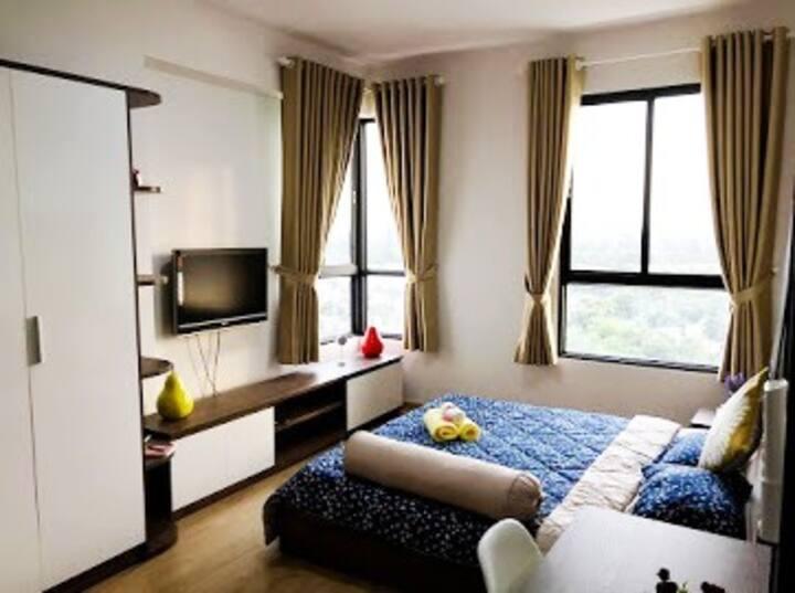 Sunny's cozy apartment