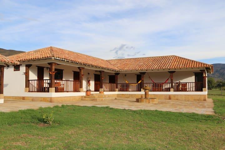Casa Campestre San Jose de Veracruz - Villa de Leyva - Casa