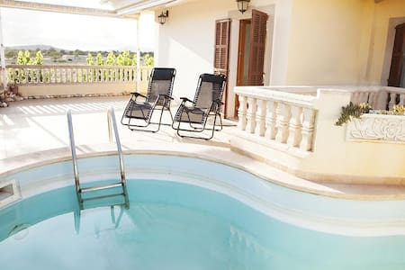 Villa in SÍllot whit private pool - S'Illot-Cala Morlanda
