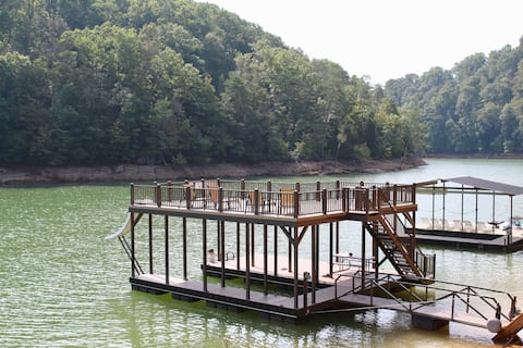 Serenity Now- Norris Lakefront; 2 story dock
