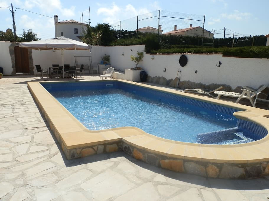 VILLA MARIA`S 11MTR X 5 MTR PRIVATE SECLUDED POOL