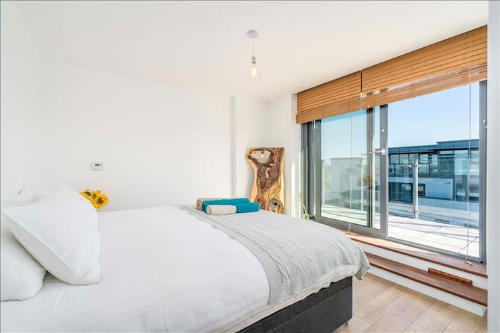 Spacious 1BR Apt with Breathtaking View - London - Apartment