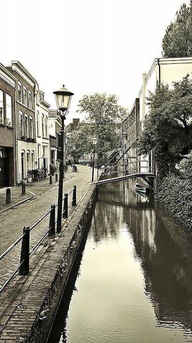 Peperstraat: een van de oudste straten van Gouda.