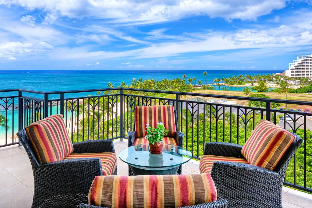 Amazing Oceanfront View From Our Beach Villa