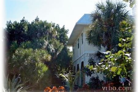 2 BR on Private Tropical Island - North Captiva - Hus