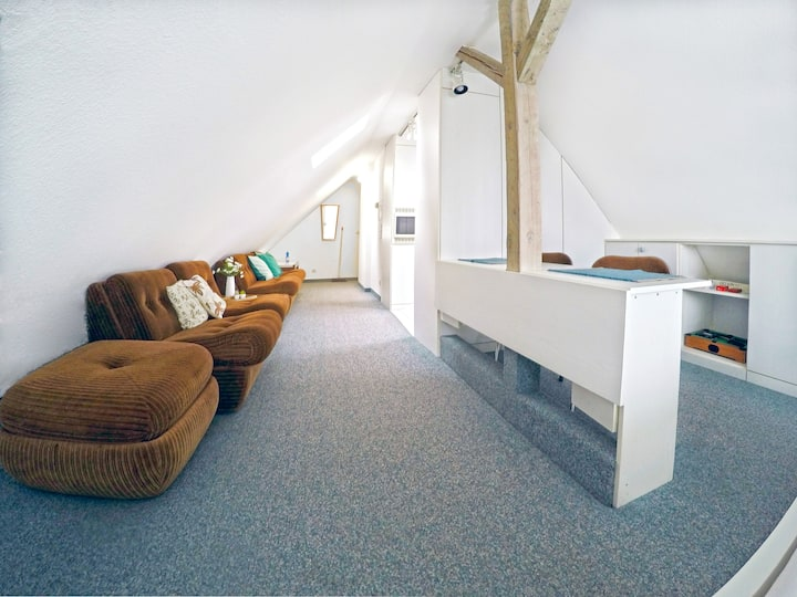 EXCLUSIVE   Dachgeschoss near HBF for 4 Persons