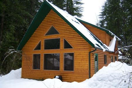 Mt Hood Cabin has Hot Tub & Fireplace $99 Special - 杜鹃花市(Rhododendron)