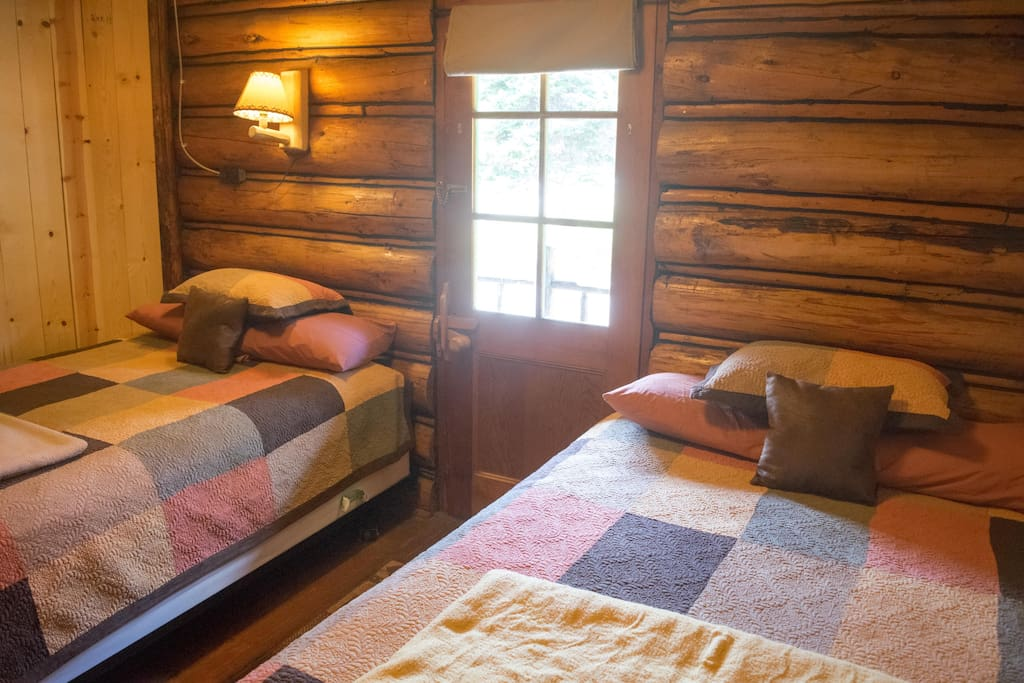 Room #6 in the Historic Range Rider Lodge.