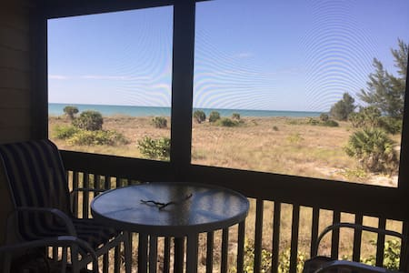Beachfront condo on Little Gasparilla Island! - Placida