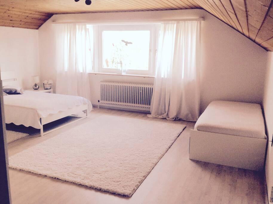 90x200 cm Bett
