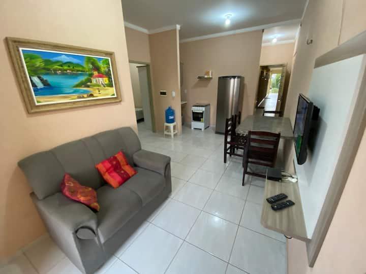 Apartamento Mobiliado 2 Quartos em Tibau RN (101)
