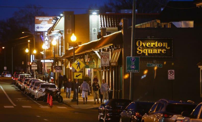 Midtown Charm in Historic Overton Area!