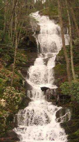 Visit nearby Buttermilk Falls, the tallest waterfall in the state of New Jersey!
