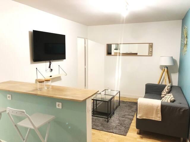Magnifique Appartement cosy et accueillant