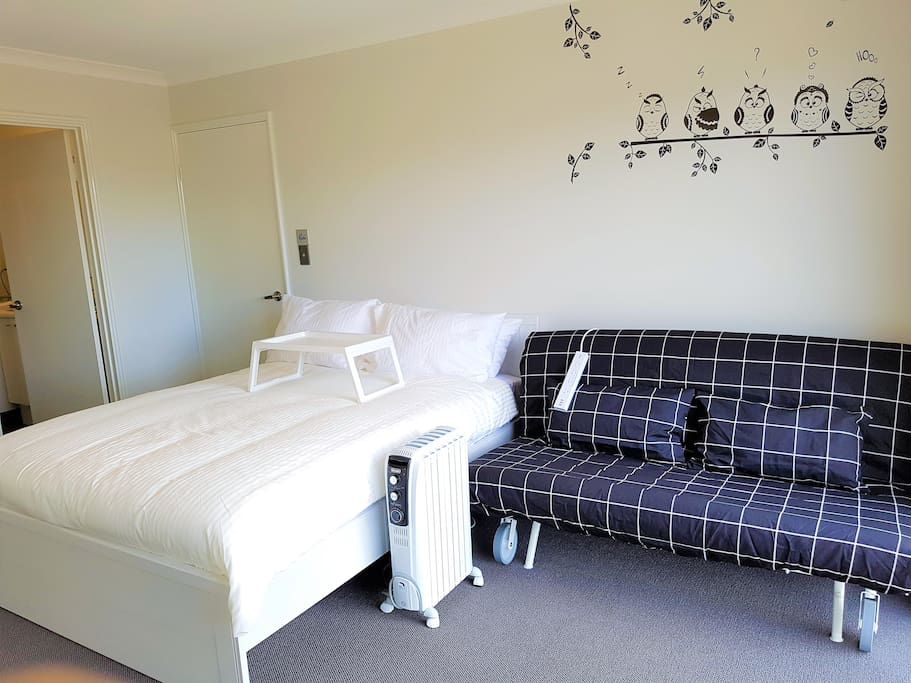 Bedroom and Sofa Bed