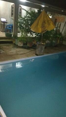 Quarto de solteiro com piscina em Tamoios