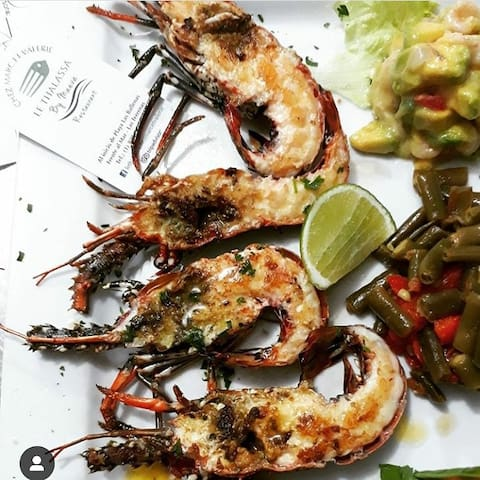 Profitez des 250 restaurants de Las Terrenas.