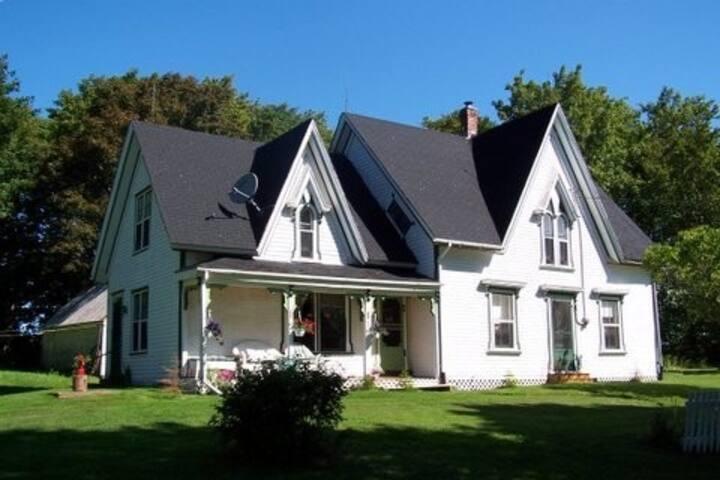 Large Authentic Victorian farmhouse