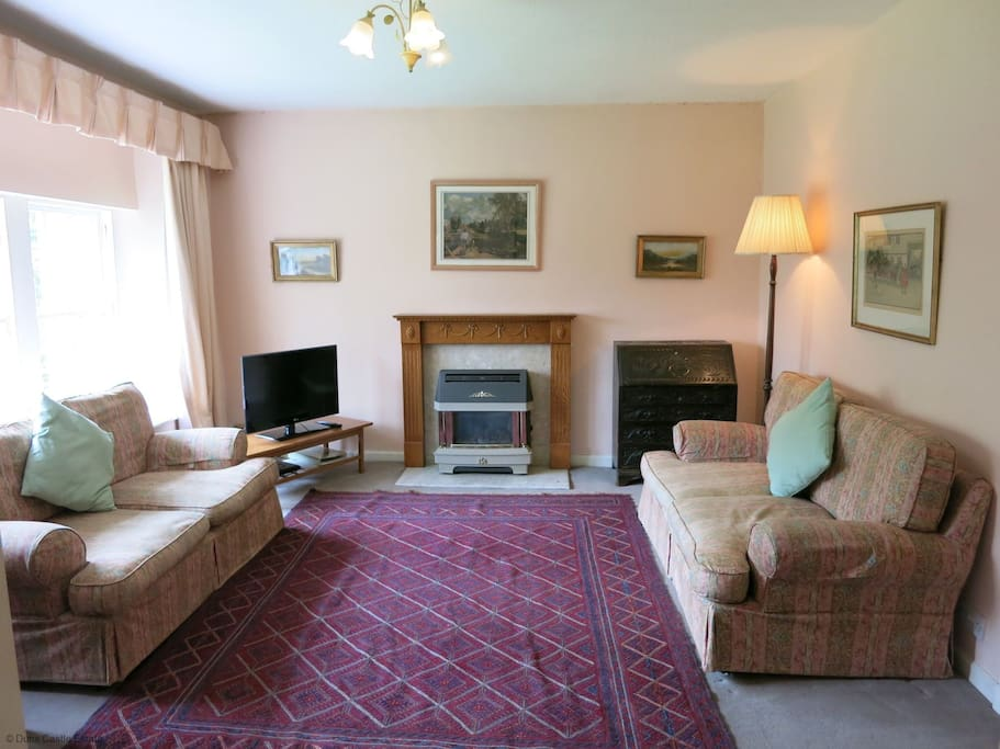Sitting Room, Carriage Mews, Duns Castle Estate, Scottish Borders