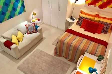 Charmoso Loft no Coração do Leblon - Rio de Janeiro - Apartment