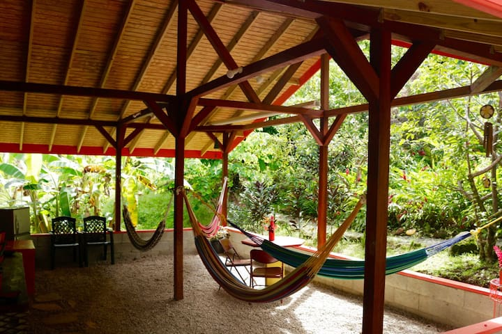 Camping & Hammocks - Beyond Vitality Nature Camp - Castle Bruce - Hostel